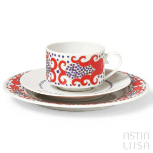 Arabia Esmeralda coffee set