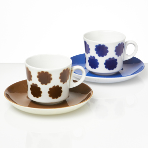 Arabia Piparkakku coffee cups