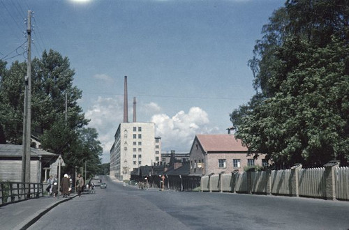 Arabia Helsinki Factory (photo by Akusti Tuhka 1953, Museovirasto)