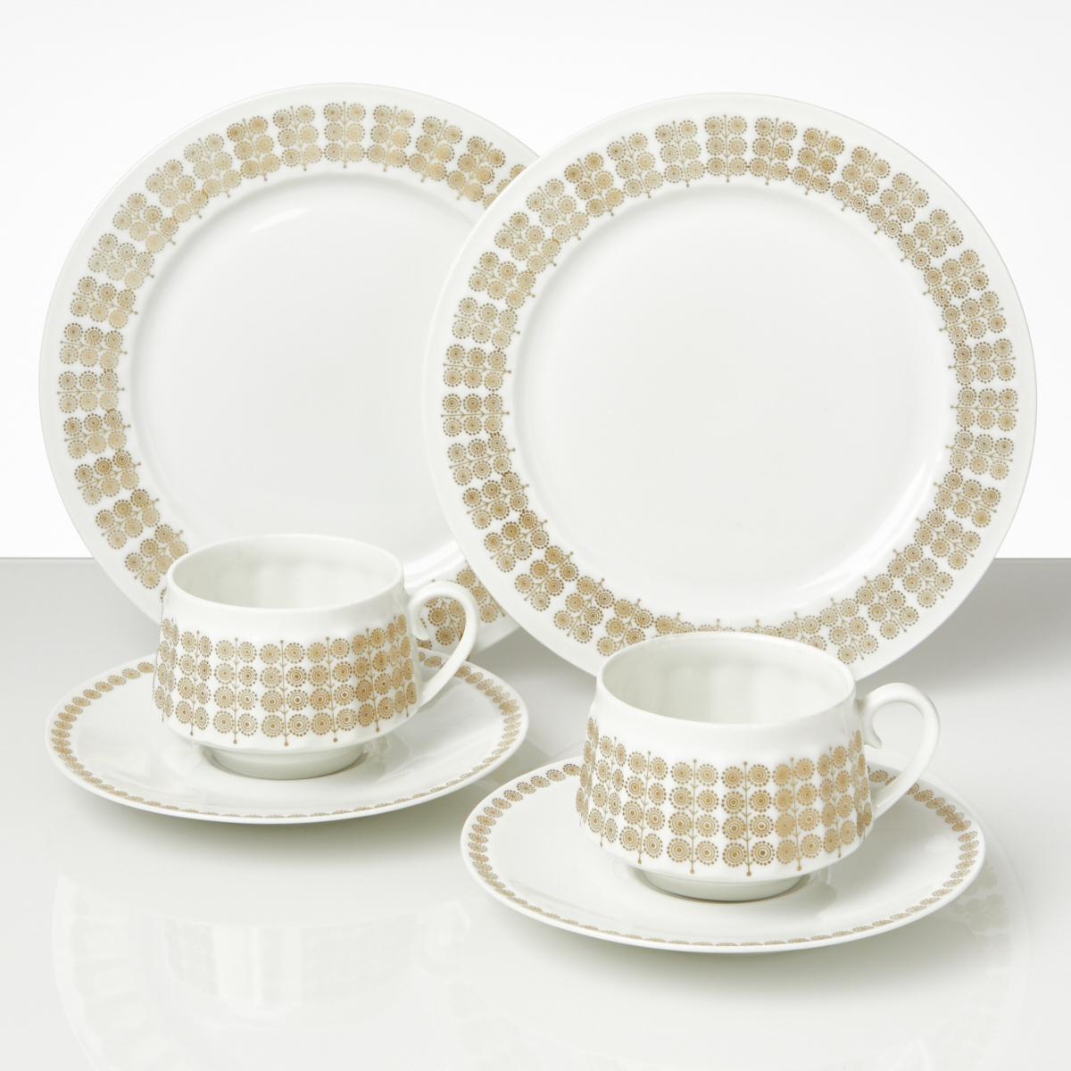 Arabia Pallas Two Coffee Sets